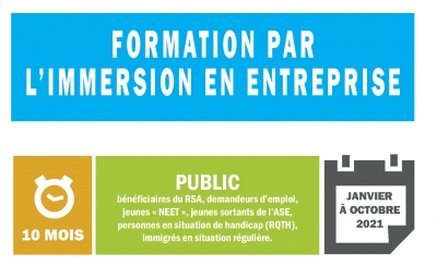 Formation par l'immersion en entreprise